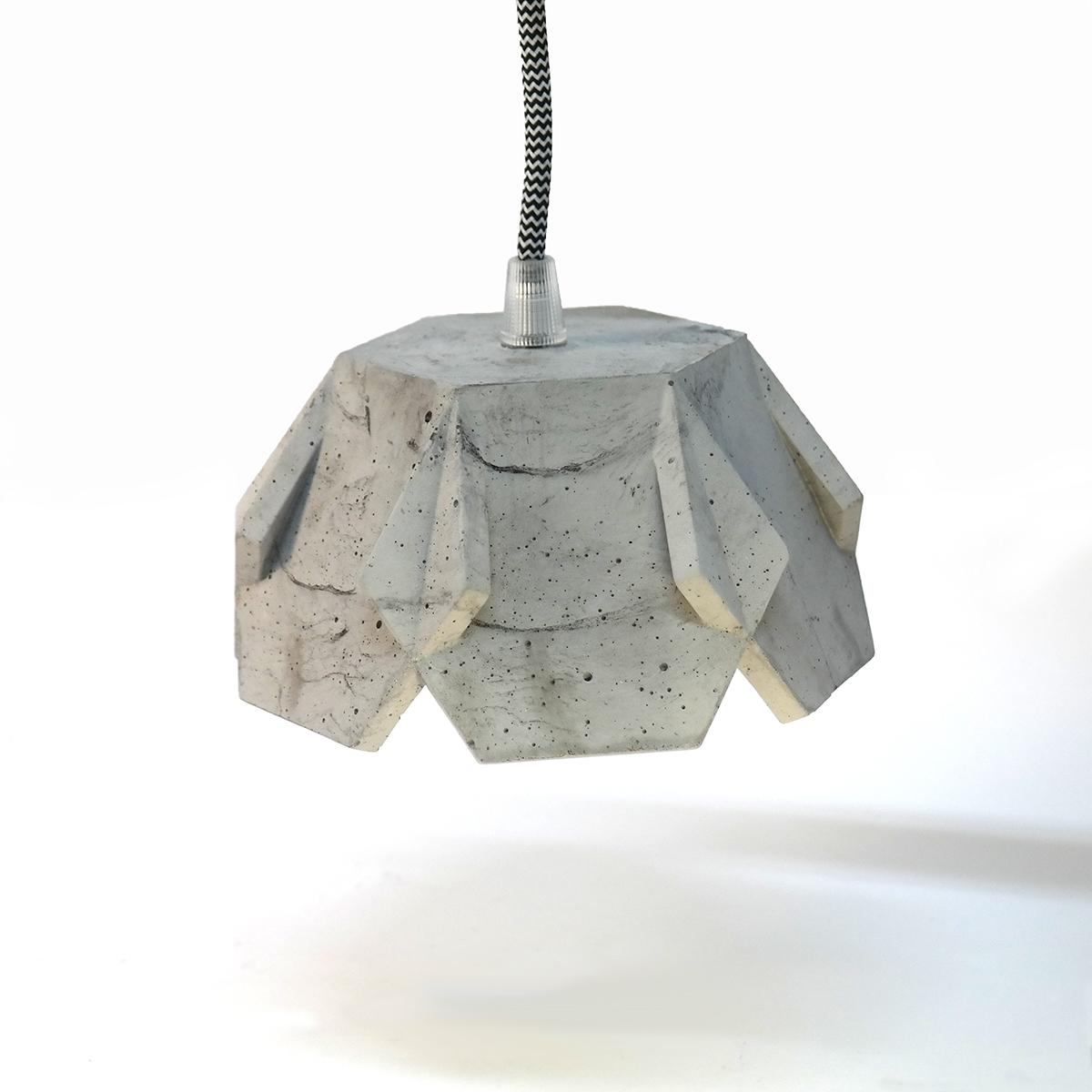 Jill-concrete-pendant-grey-hanging