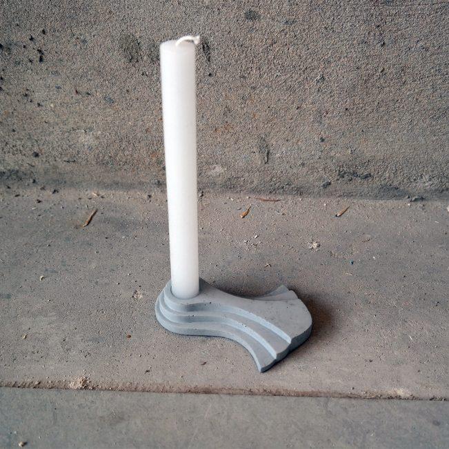 KATE-beton-kandelaar-kaars