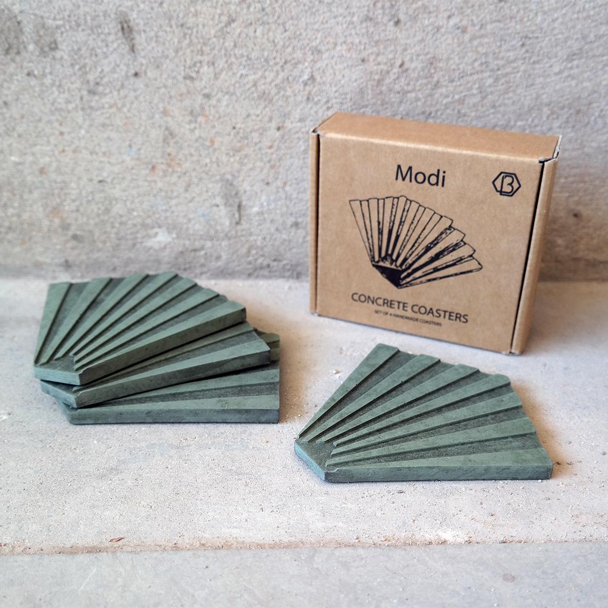 MODI-beton-onderzetters-groen