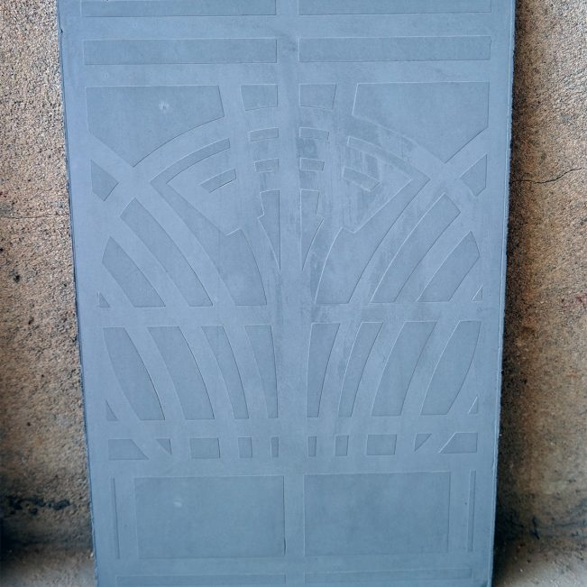 Panel-concrete-art-deco